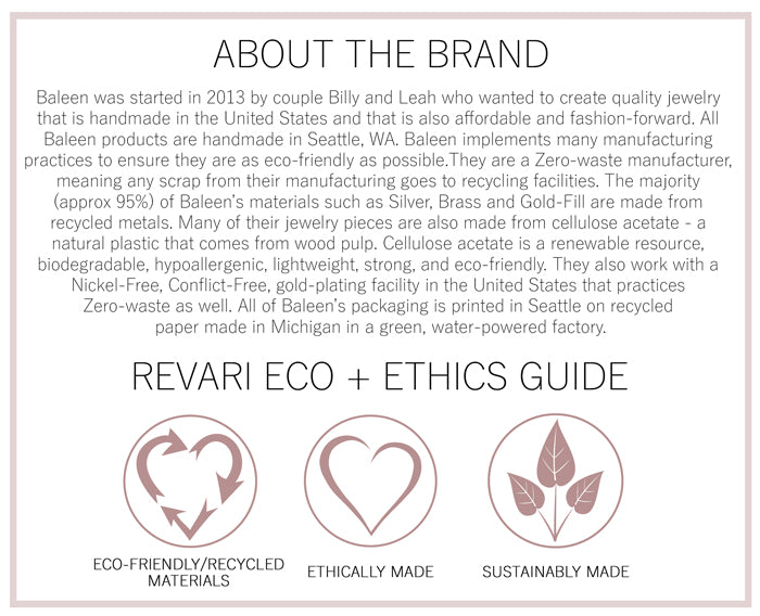 Baleen Eco and Ethics Guide