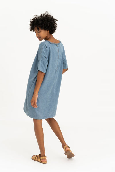 Indigo Easy Dress