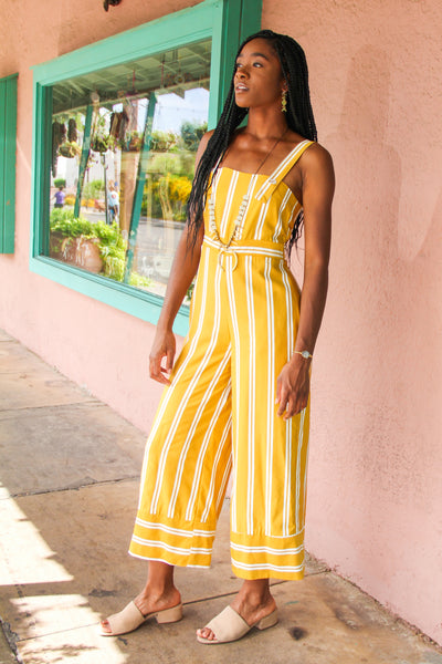 Stripe Dominique Jumpsuit