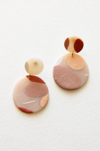 Sun Paloma Clay Earrings