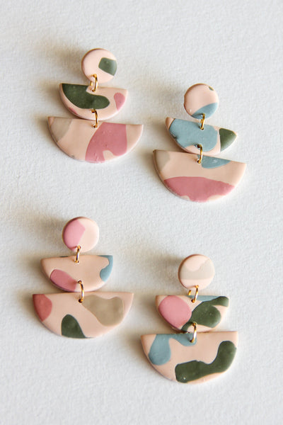 Alma Clay Earrings