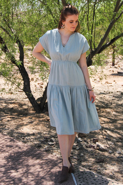 Organic Cotton Dahlia Dress
