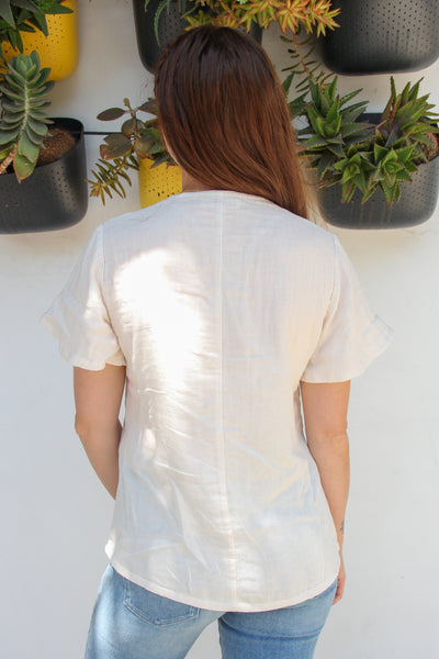 Organic Cotton Daisy Top