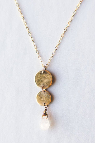 Gold Cascade Necklace