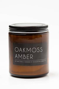 Oakmoss Amber Natural Soy Candle