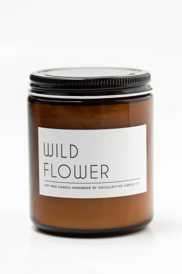 Wild Flower Natural Soy Candle