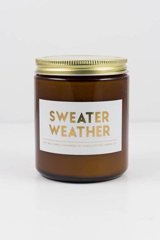 Sweater Weather Holiday Natural Soy Candle