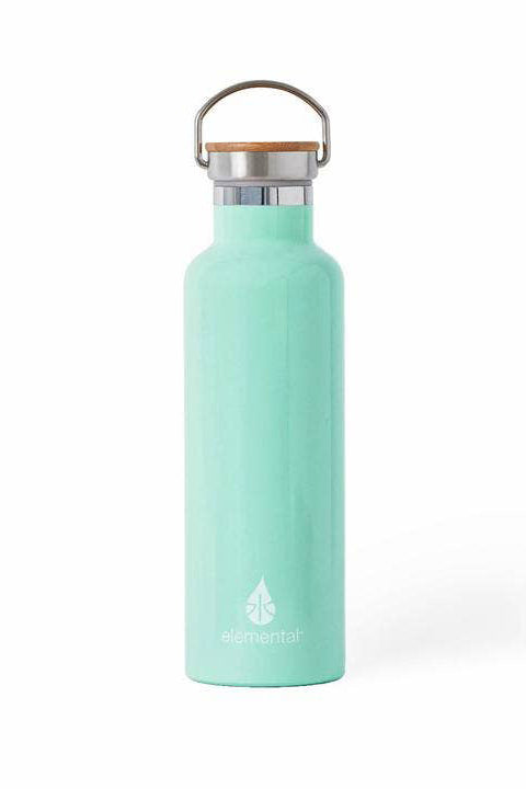 Mint Stainless Steel Water Bottle
