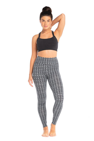 Organic Cotton Zig Zag Leggings