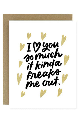 Love You So Much Greeting Card