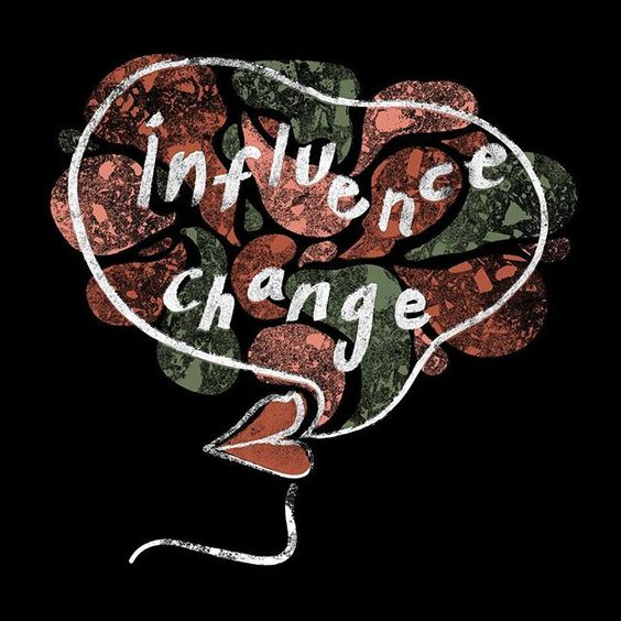 Influence Change Organic Cotton Tee
