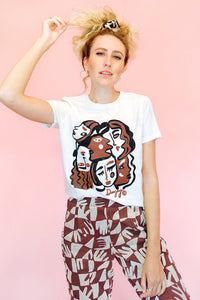 Girl Gaze Organic Cotton Tee