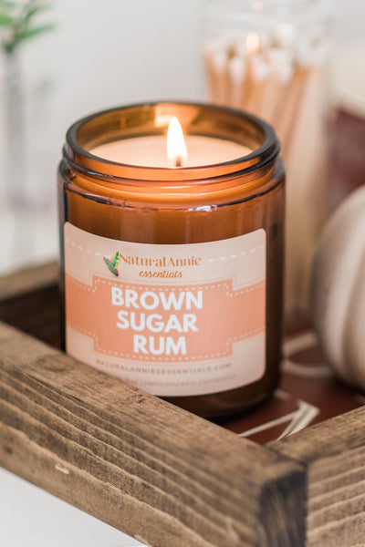 Brown Sugar Rum Natural Soy Candle