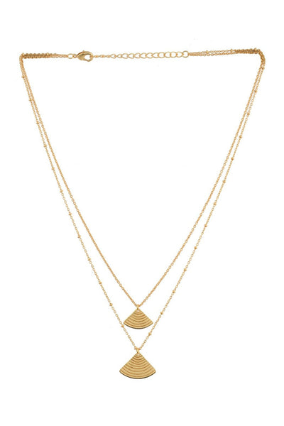 Carter Double Layer Necklace