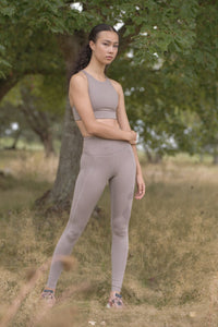 Limestone High Rise Compressive Leggings