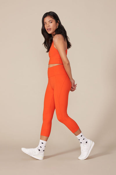 Daybreak High Rise Compressive Leggings - Cropped