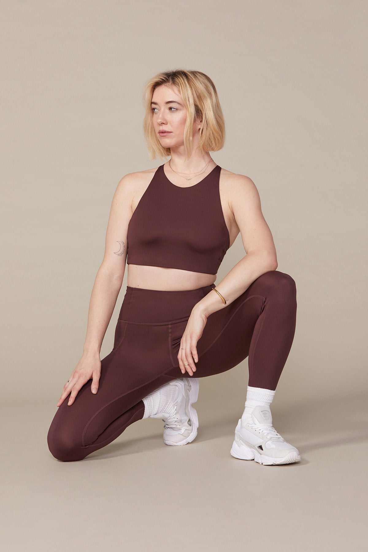 Cocoa High Rise Compressive Leggings - Cropped