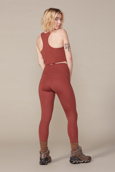 Sedona High Rise Compressive Leggings - Cropped