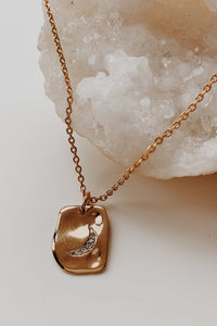 Moon Celestial Charm Necklace