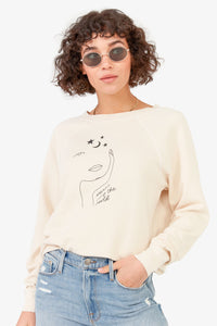 Women Carry The World Pullover Sweater