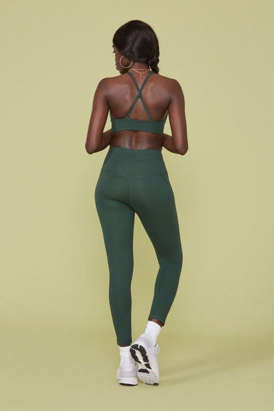Moss High Rise Compressive Leggings - Cropped