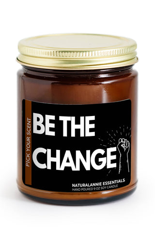 Spiced Honey Be The Change Natural Soy Candle