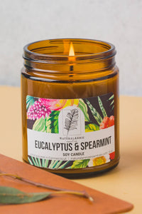 Eucalyptus & Spearmint Natural Soy Candle