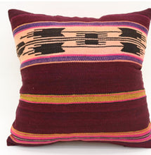 Deep Wine Printed Pillow