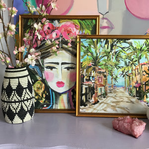 A Tropical Paradise Framed Art