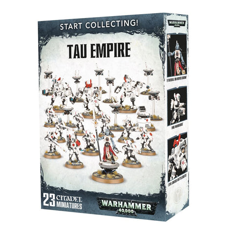 Start collecting Tau Emprie
