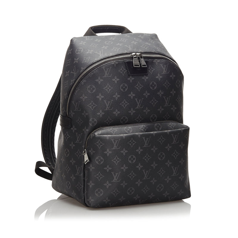Pre-Loved Louis Vuitton Black Monogram Eclipse Apollo Backpack France