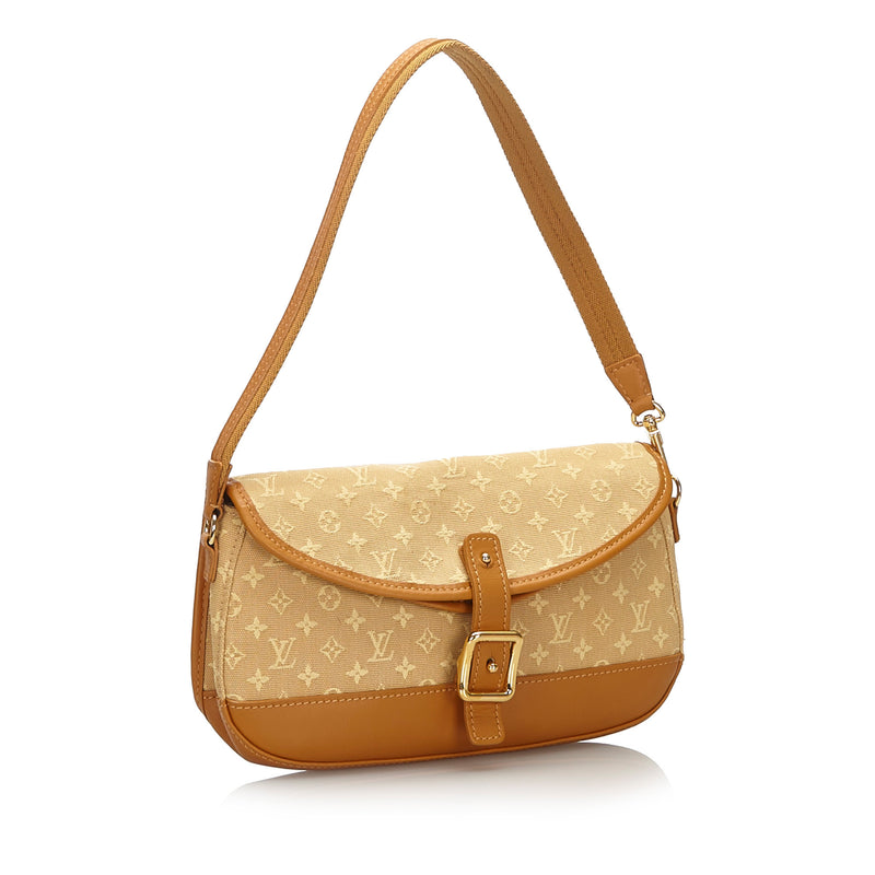 Pre-Loved Louis Vuitton Brown Monogram Mini Lin Marjorie France