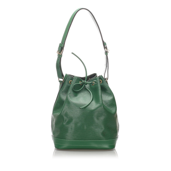 Pre-Loved Louis Vuitton Green Epi Leather Noe France