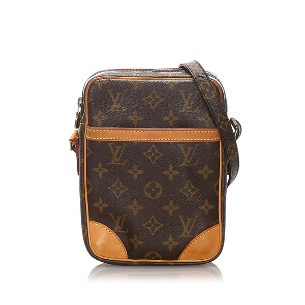 Pre-Loved Louis Vuitton Brown Monogram Canvas Danube France