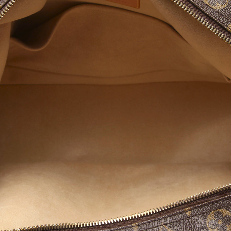 Pre-Loved Louis Vuitton Brown Monogram Canvas Manhattan GM France