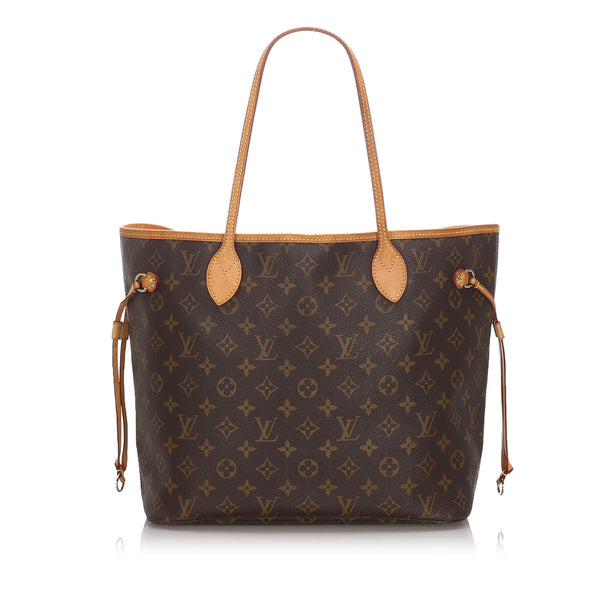 Pre-Loved Louis Vuitton Brown Monogram Canvas Neverfull PM France
