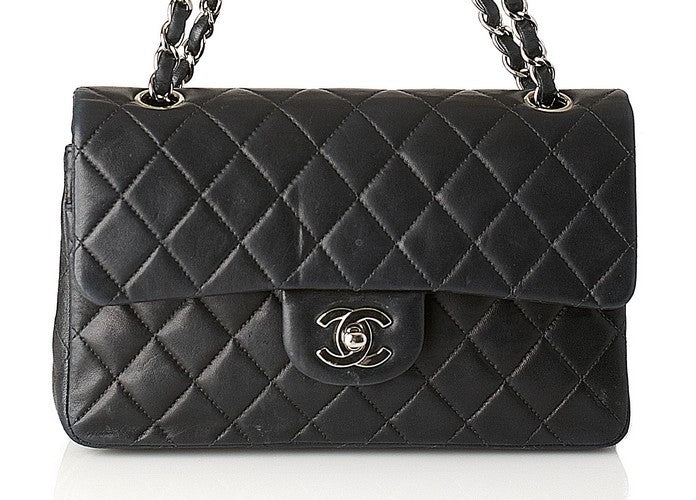 Chanel Small Flap Leather Handbag (Authentic Pre Owned)