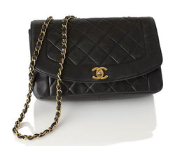 Chanel Classic Flap Leather Handbag (Authentic Pre Owned)