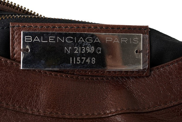 Balenciaga City Leather Handbag (Authentic Pre Owned)