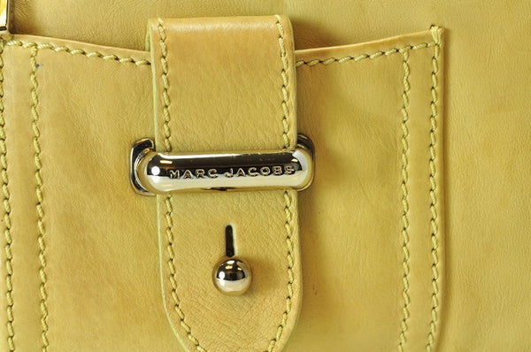 Marc Jacobs Pocket Tote Leather Handbag (Authentic Pre Owned)