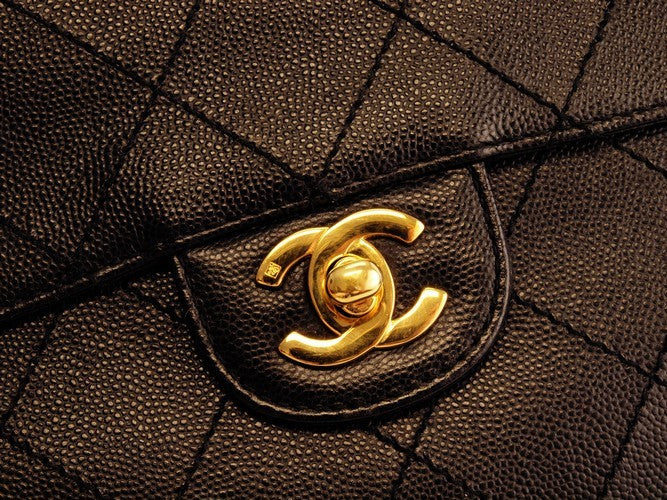 Chanel Small Shoulder Flap Leather Handbag (Authentic Pre Owned)