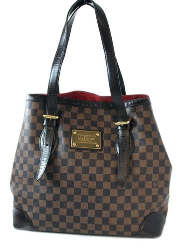 Louis Vuitton Hampstead GM Handbag (Authentic Pre Owned)