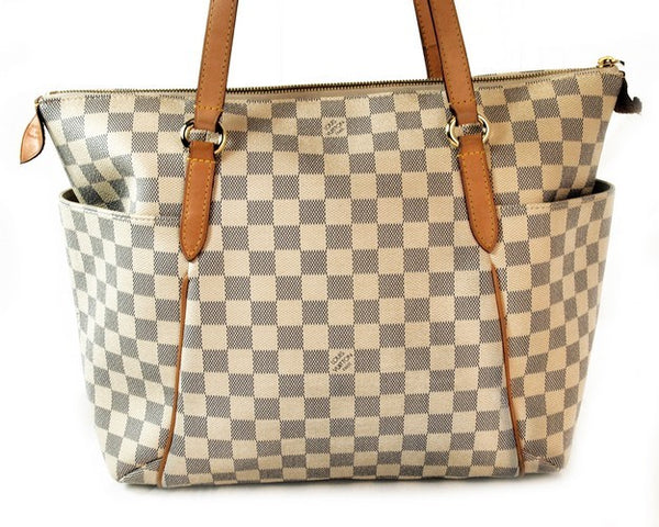 Louis Vuitton Damier Totally Handbag (Authentic Pre Owned)