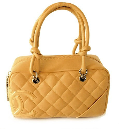 Chanel Lambskin Quilted Cambon leather (Authentic Pre Owned)