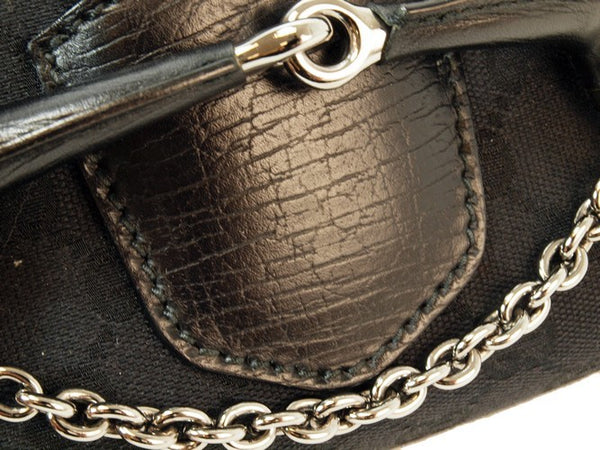 Gucci Horsebit Hobo Gg Flap Bag (Authentic Pre Owned)