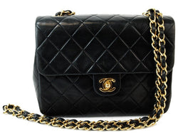 Chanel 2.55 Classic Leather Handbag (Authentic Pre Owned)