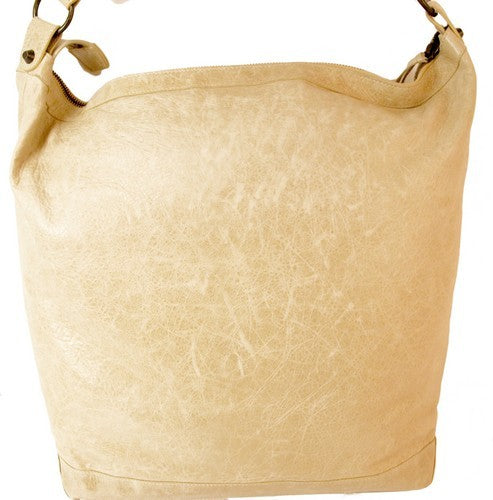 Balenciaga Sahara Sand Day 2008 Leather Handbag (Authentic Pre Owned)