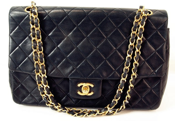 Chanel 2.55 Leather Handbag (Authentic Pre Owned)