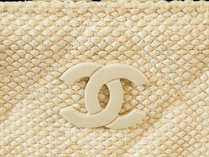 Chanel Tweed Shopping Tote Handbag (Authentic Pre Owned)