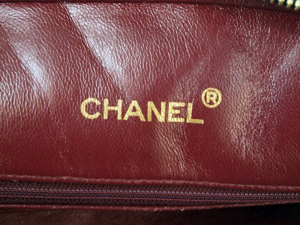 Chanel Shoulder Leather Handbag (Authentic Pre Owned)